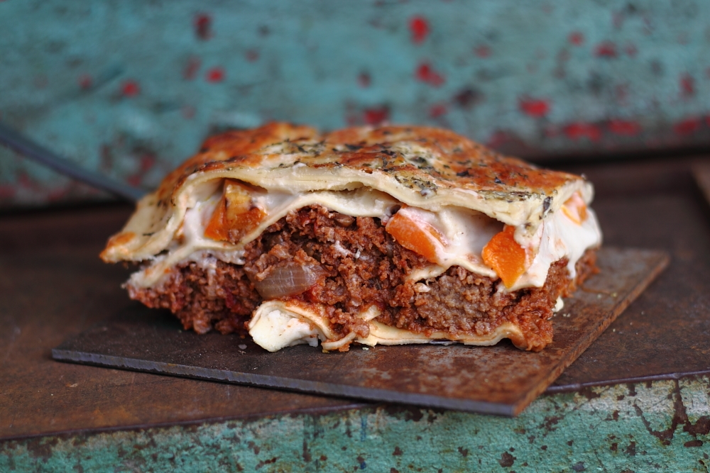 The Parsnipship's Roasted Butternut Squash Lasagne