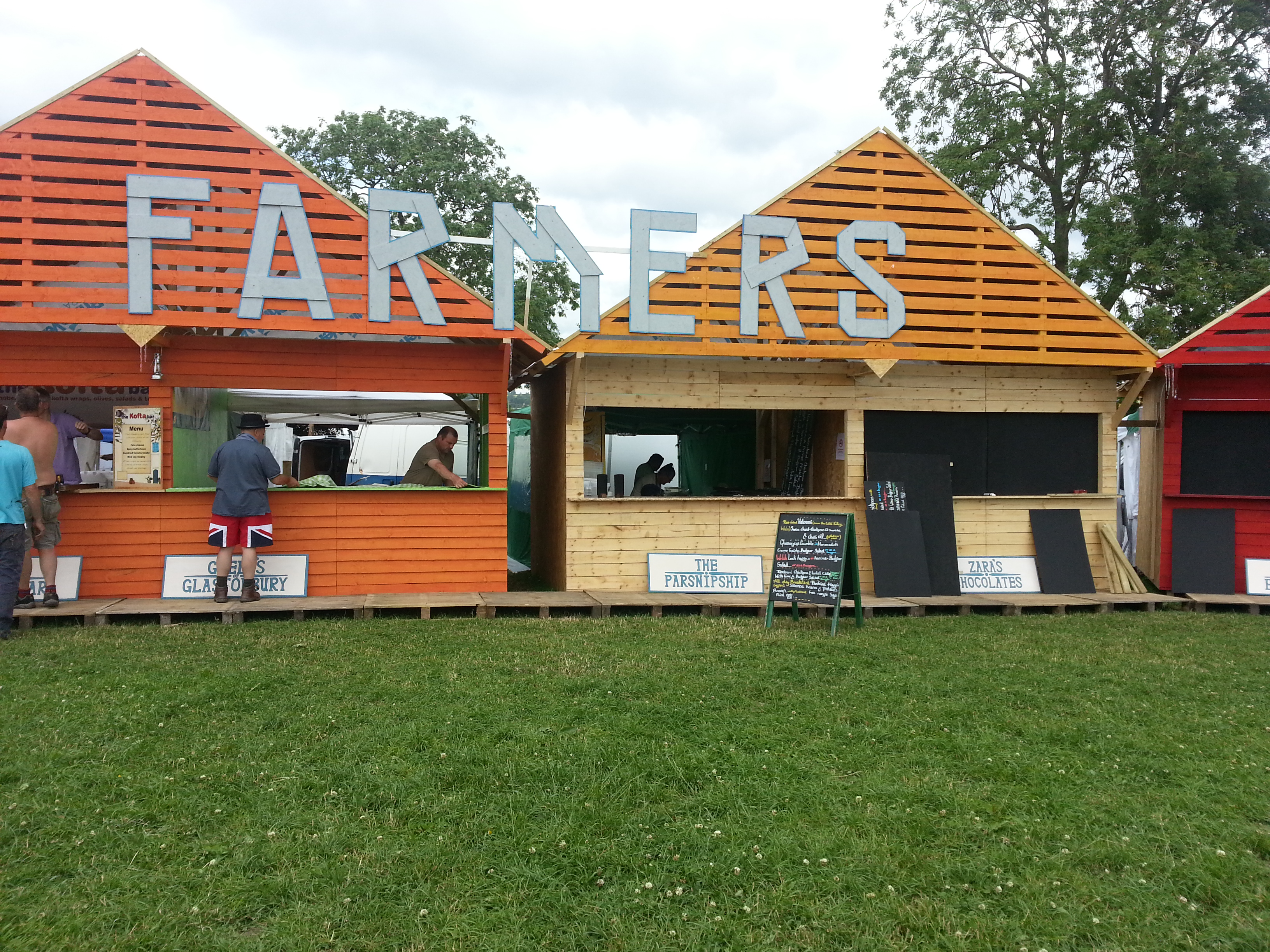 Pick up our foods at new motorway services and Glastonbury Festival's Farmers Market!