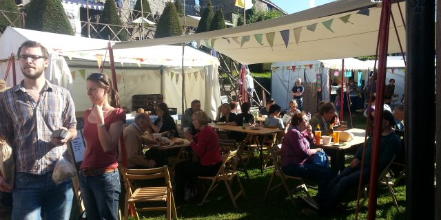 The Parsnipship prepare for this year's Hay Festival