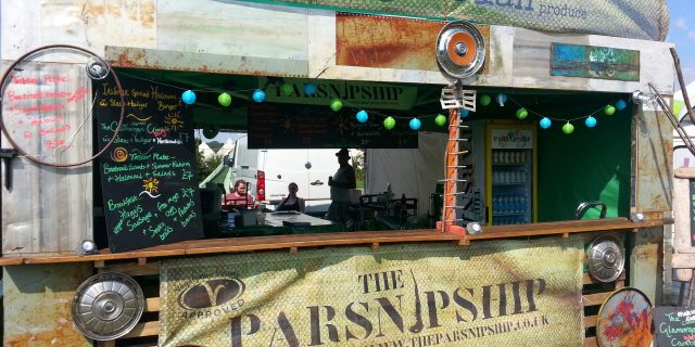 The Parsnipship unveiled at the Secret Garden Party