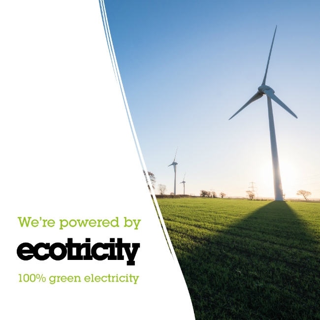 Powering The Parsnipship with Ecotricity