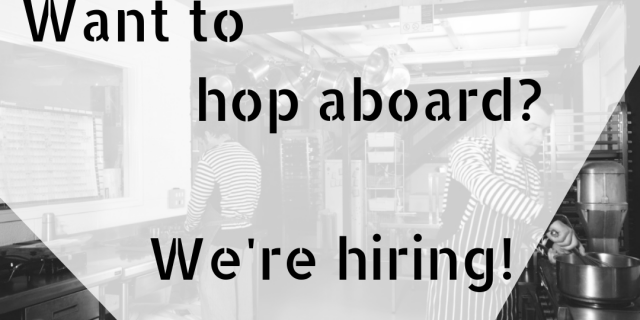 Join The Parsnipship Team – We're hiring!